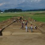 Arheološko izkopavanje na najdišču Repovnice