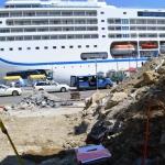 Arheološke raziskave Koper - panoramsko dvigalo