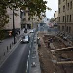 Območje raziskav znotraj modernega mesta (foto: B. Gutman).