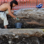 Čiščenje arheoloških plasti